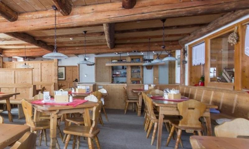 Gaststube der Heidelberger Hütte