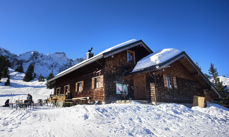 Skitourenstützpunkt Stuibenhütte